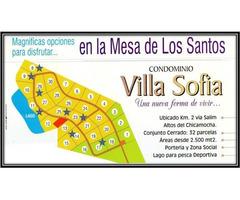 Venta De Espectaculares Lotes En El Condominio Villa Sofia, Mesa De Los Santos