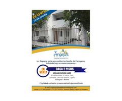 Venta De Casa En Urbanización Baru Cartagena