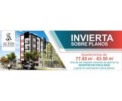 Apartamentos sobre planos PROYECTO ALTOS DE SAN FRANCISCO - Gane Valorización