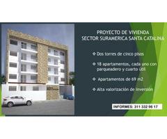 Venta de Apartamentos Sector Suramerica Proyecto de Vivienda para estrenar