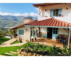 Venta de hermosa casa Campestre ubicada en Zapatoca Santander