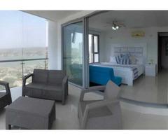 Arriendo en CARTAGENA, ZONA MARBELLA, SUPER Apartamento frente al mar