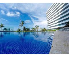 Venta de Apartamento en Cartagena en Beach club con vista al mar