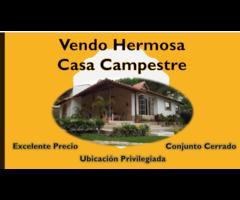 Venta de Hermosa Casa con Parcela en Conjunto Campestre en Floridablanca - Santander